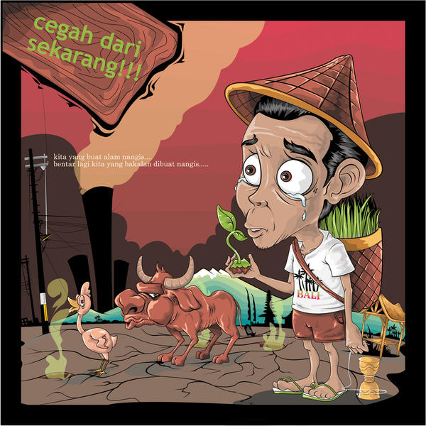 global warming??? by adipurba