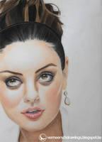 Mila Kunis by Martin--Art