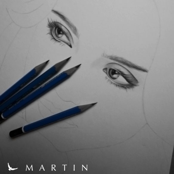 .: Jessica Alba ~ WIP II :. by Martin--Art