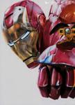 .: Shooting Iron Man ~ Color drawing :.