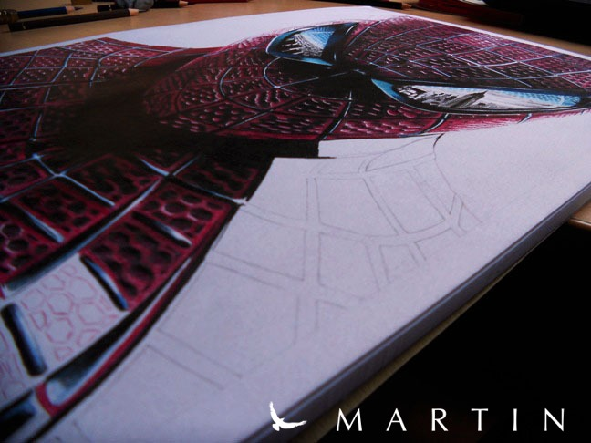The Amazing Spiderman WIP IV by Vermeerschdraw by Martin--Art