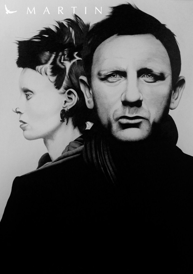 .: The girl with the dragon tattoo :. by Martin--Art