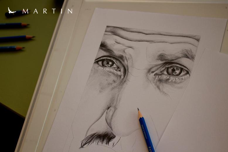 .: Sean Penn ~ WIP II :. by Martin--Art