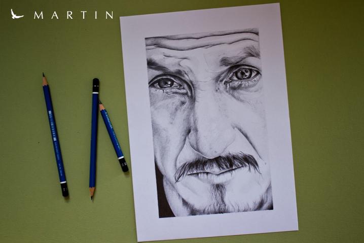 .: Sean Penn ~ by MartinArt :. by Martin--Art