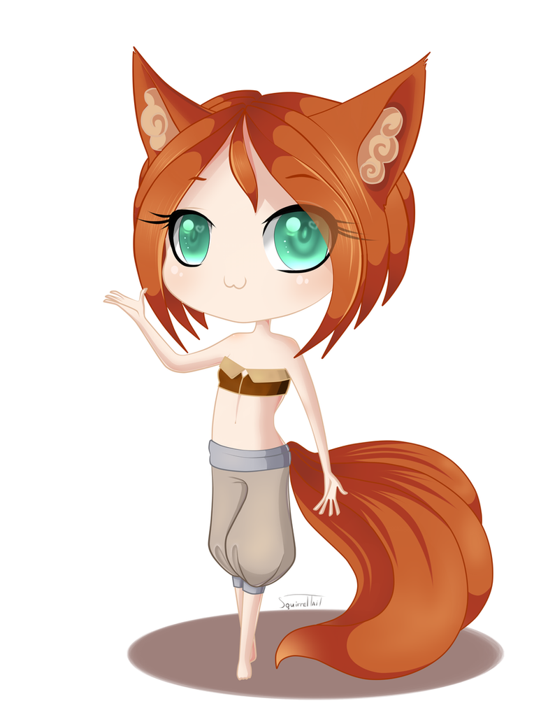 Little squirrel by Squirrel-Tail