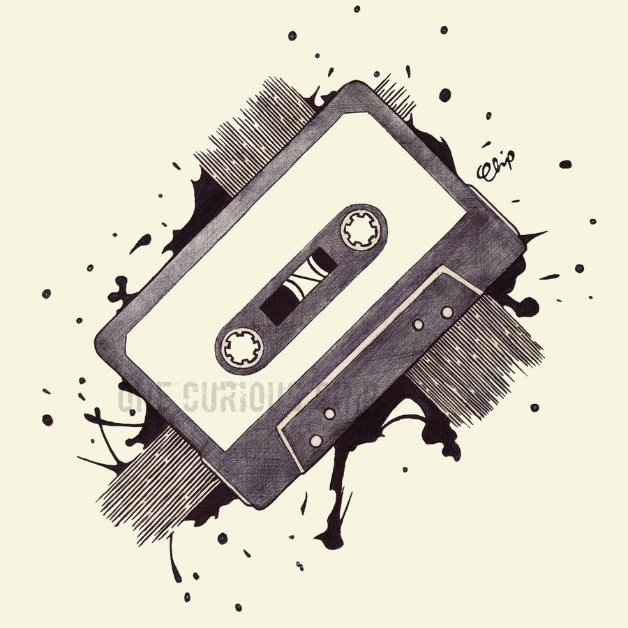 Cassette Tape by onecuriouschip on DeviantArt