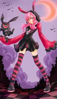 Betty the grim reaper by Bunnyhana