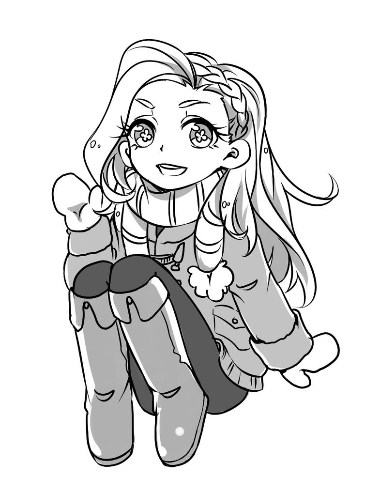 commission style - chibi by Bunnyhana