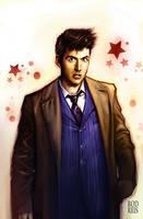 David Tennant- The 10th Doctor by RodReis