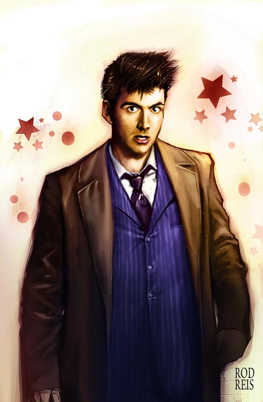 David Tennant- The 10th Doctor by RodReis