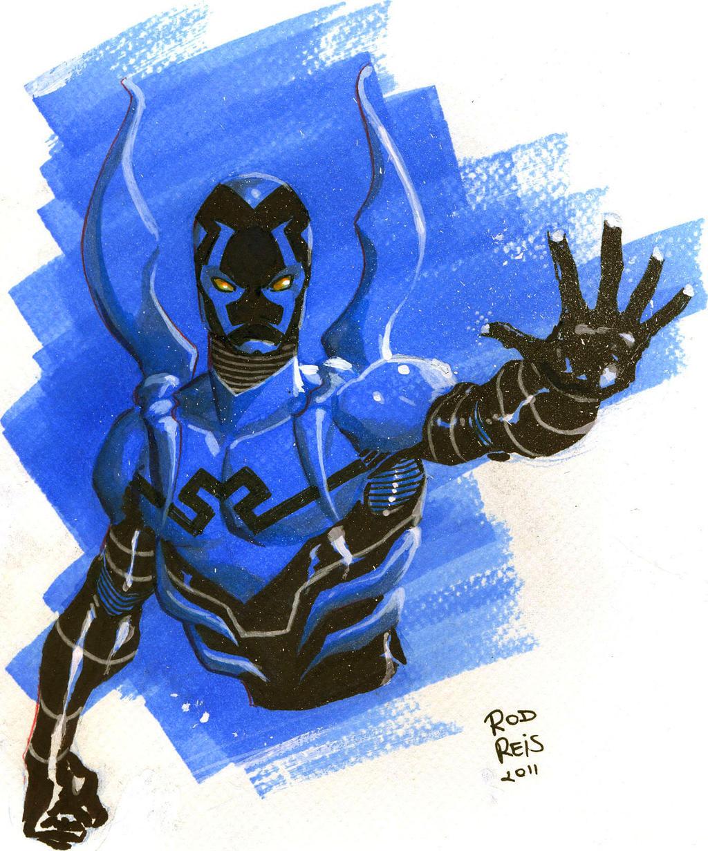 Blue Beetle by RodReis