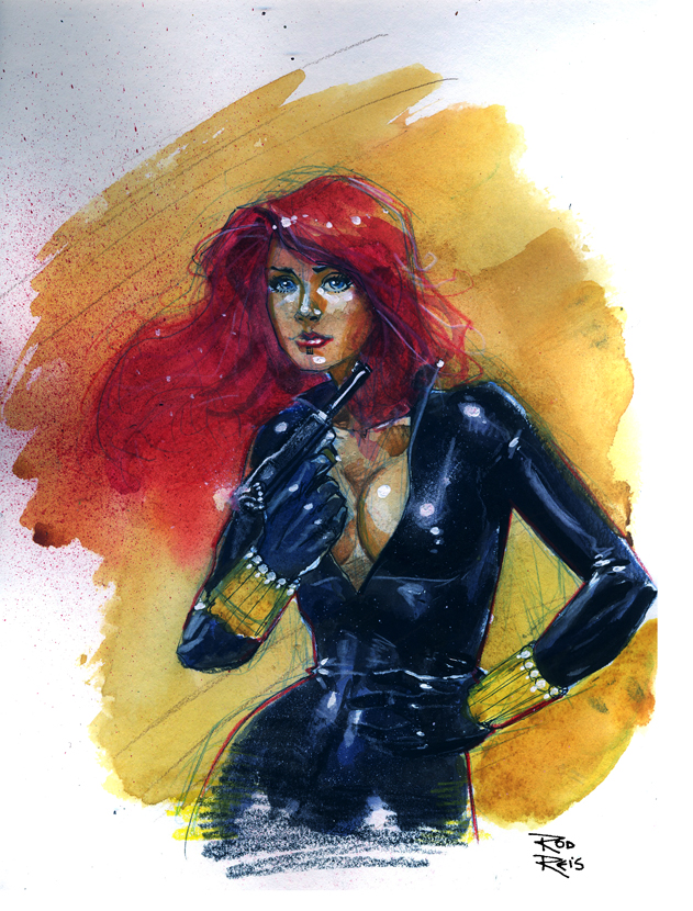 Black Widow by RodReis