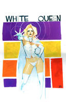 Emma frost commission by RodReis