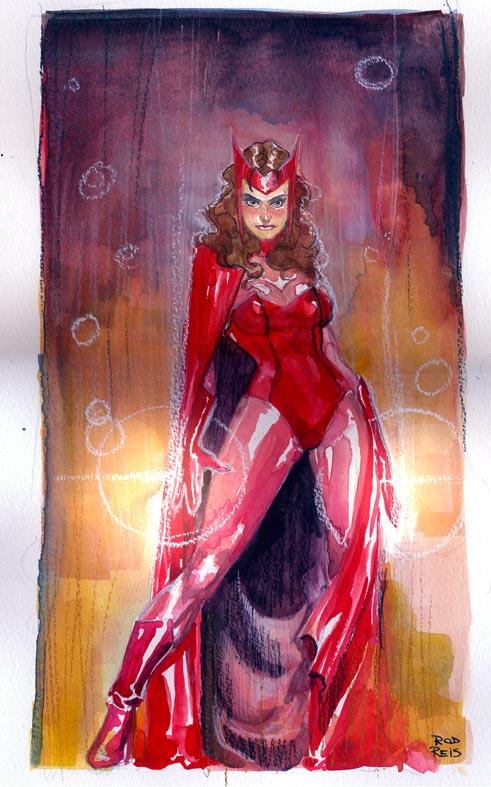 Scarlet Witch by RodReis