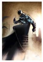 Watching Batman by RodReis