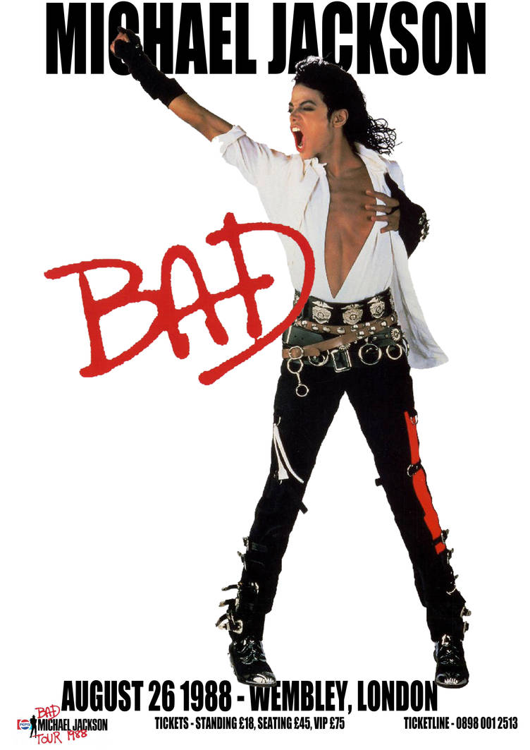 b9f13a63ce6623 Michael Jackson Bad by love-MCR on DeviantArt