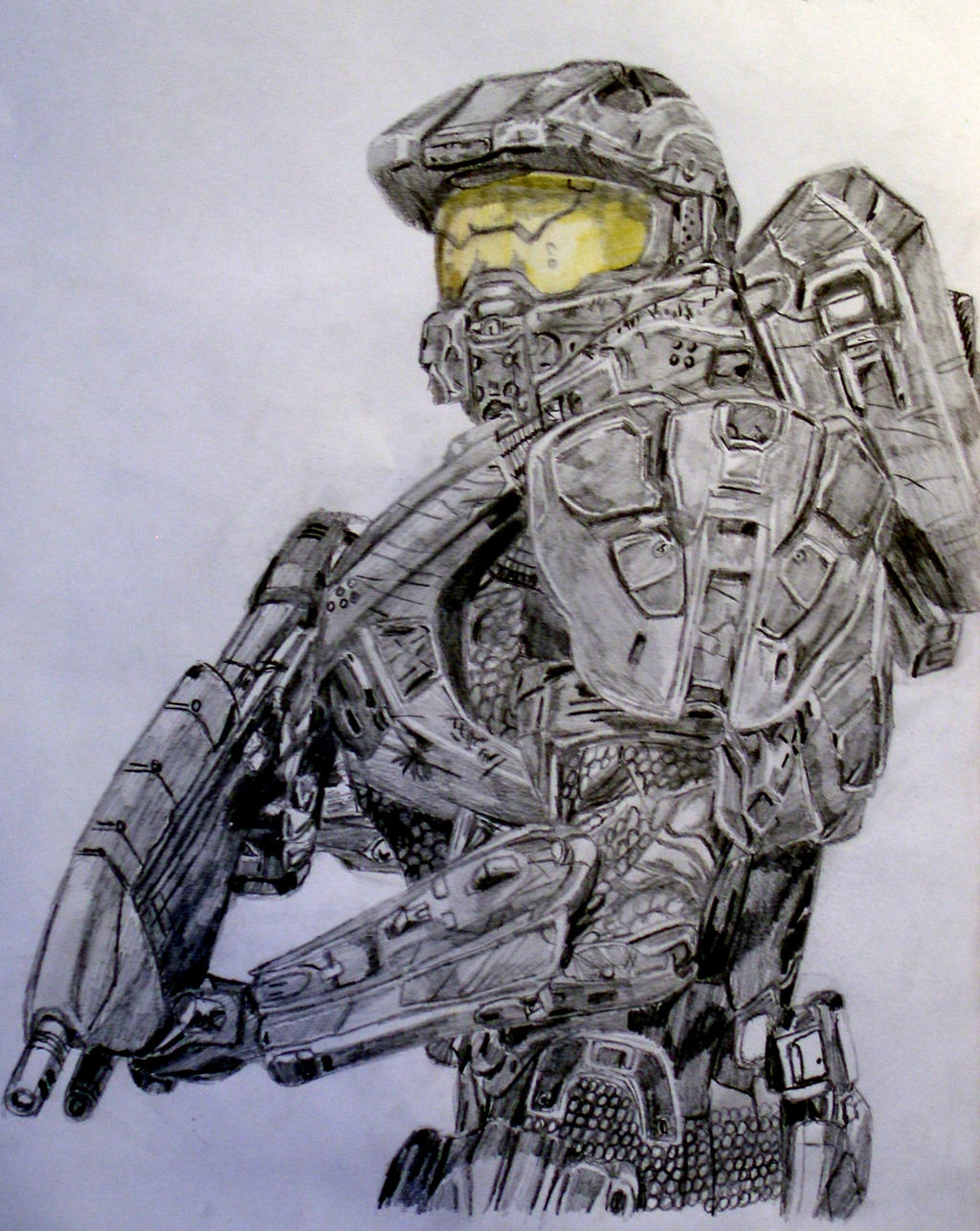 Halo Master Chief Drawing