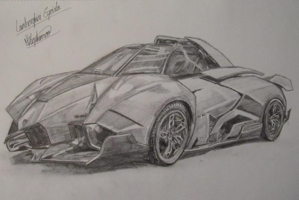 Lamborghini Egoista By Nath2897 On Deviantart
