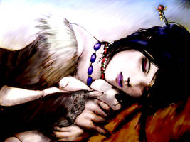 Lulu Sleeping 2 by Senneraldya