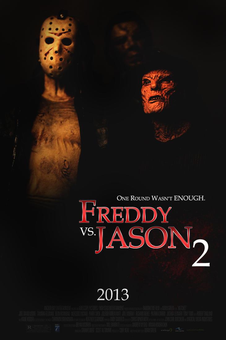 freddy vs jason 2 movie poster by rhollars on deviantart