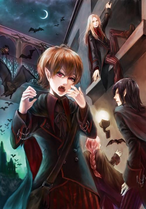 vampire boys by jbhoney on DeviantArt