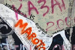 berlin wall found text by fragilemidnight