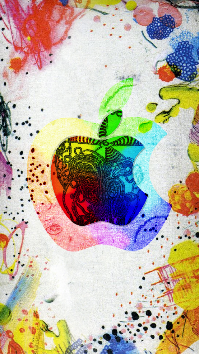Apple Logo Arte By Angelk3215 On Deviantart
