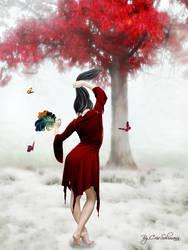 Red Winter by CrisSolimann