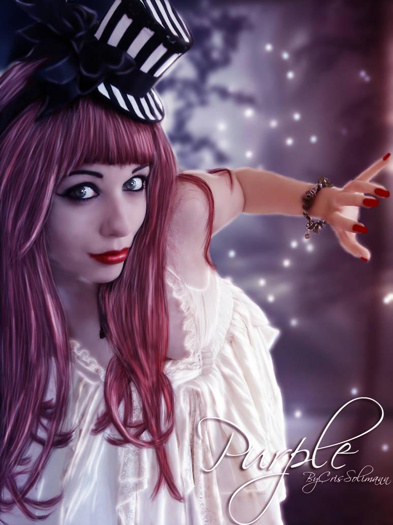 Srta Purple by CrisSolimann