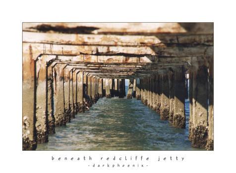 Beneath Redcliffe Jetty