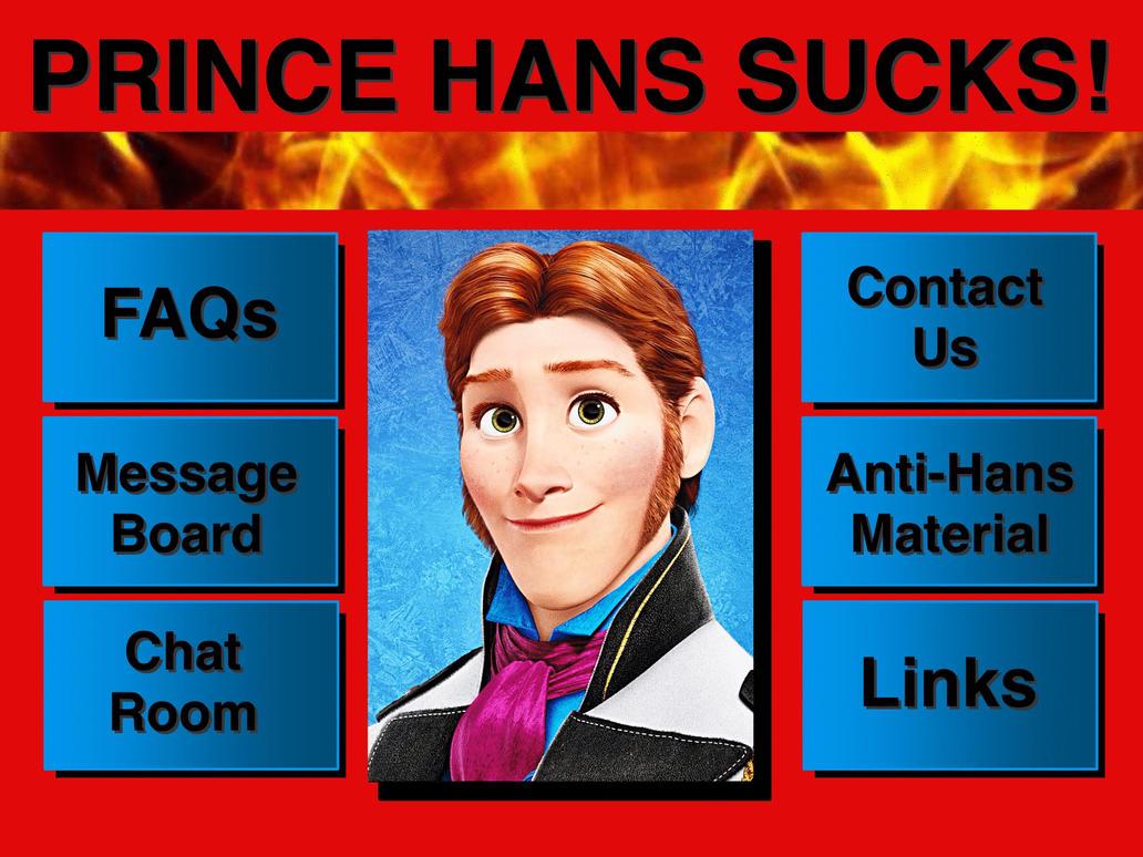 Prince Hans Sucks (Two and a Half Men/Frozen) by AerrowShapiro