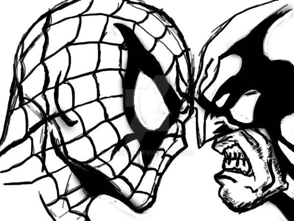 Spiderman VS Wolverine Sketch By AlexxDc On DeviantArt