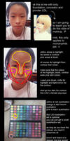 makeup tutorial for monoeyelids by Hikari-Snowflake