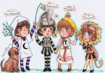 The Beatles Pyramus and Thisbe version by GabyhChaN
