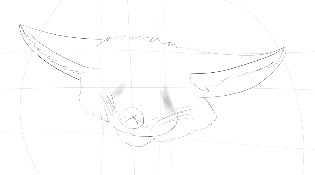 Fennec fox =W.I.P= by Damfurrywolf
