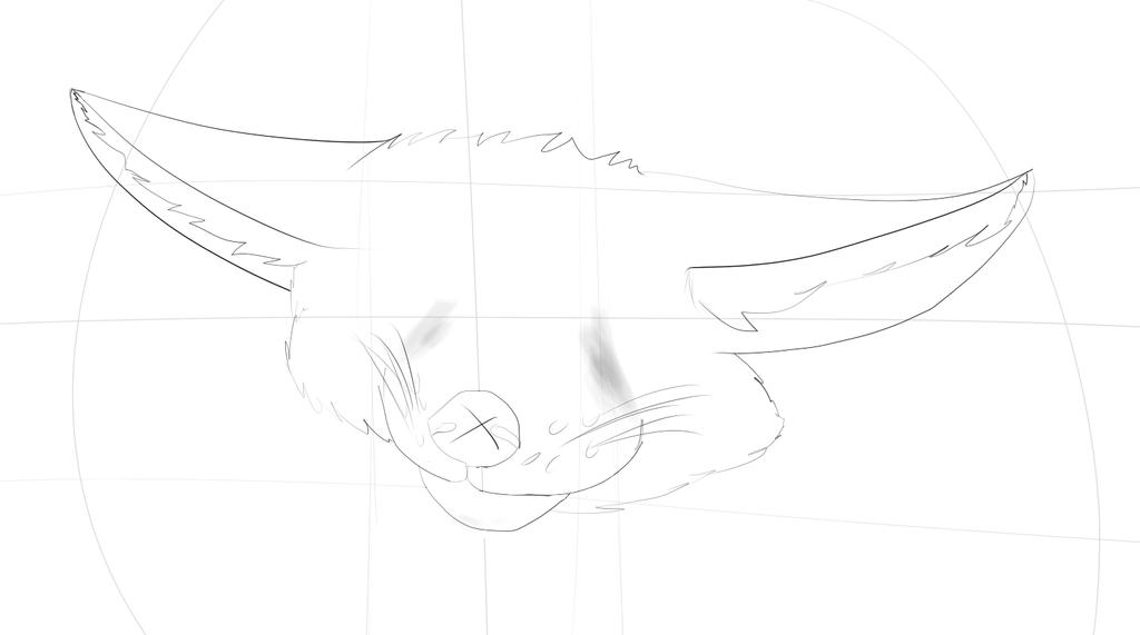 Fennec fox =W.I.P= by Damfurrywolf