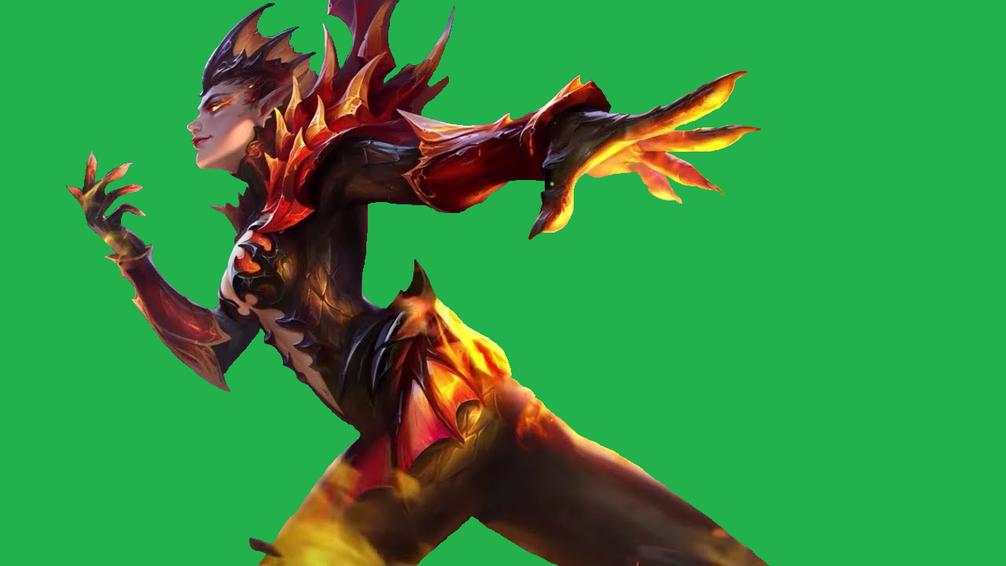 Mobile Legends Karrie Transparent Dragon Queen By B La Ze On