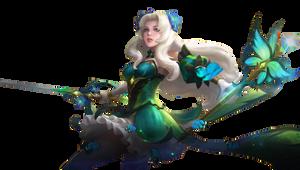 Mobile Legends Odette transparent:ButterflyGoddess