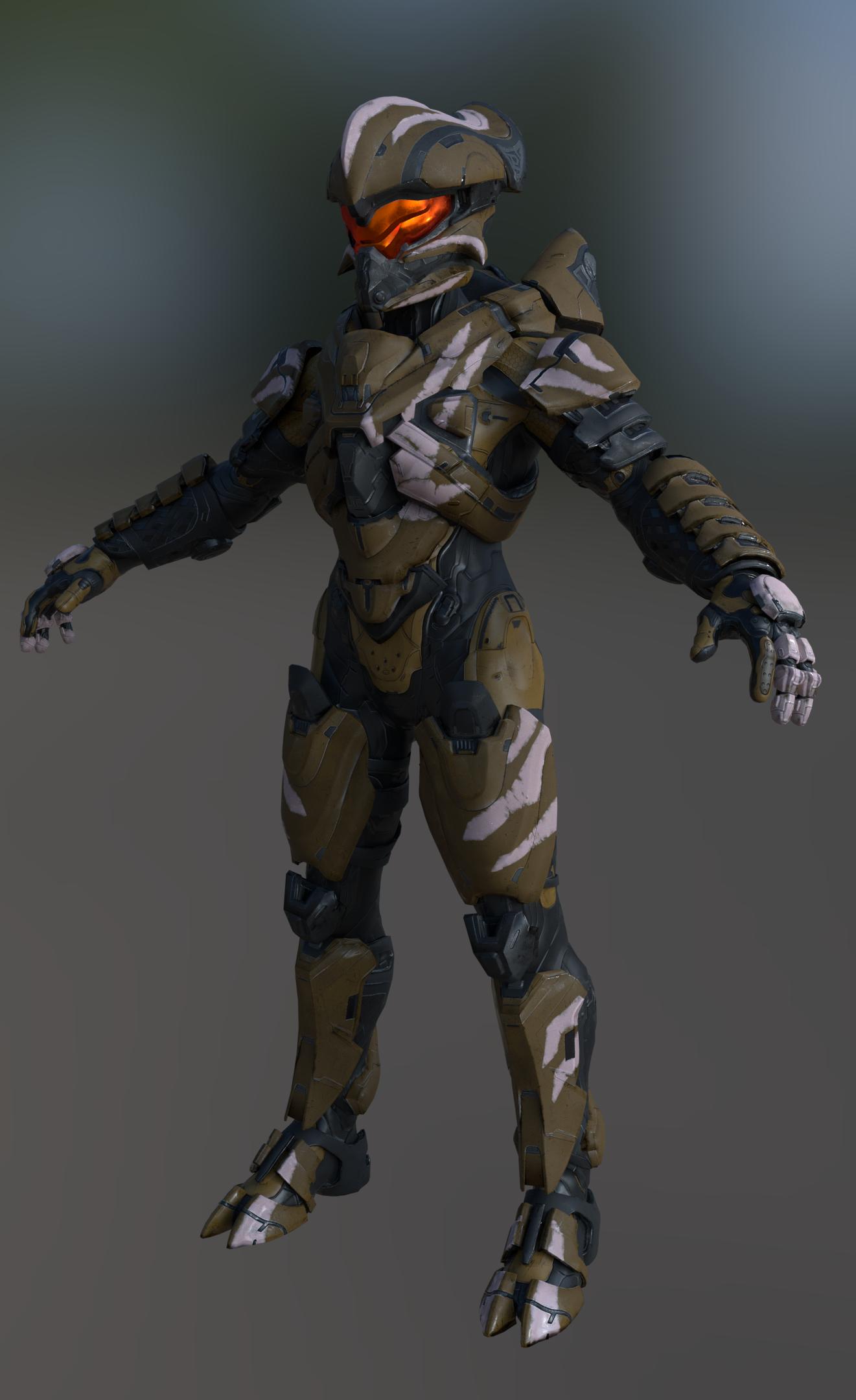 Mjolnir Armor Helioskill Halo 5 By Akiname On Deviantart