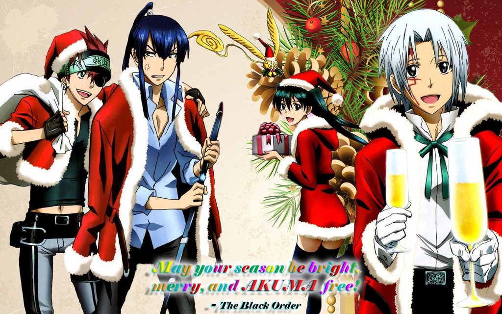 Anime Christmas Card 2 by tales06