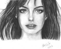 Anne Hathaway by k1haku