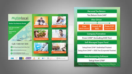 flyer design for mytaxlocal