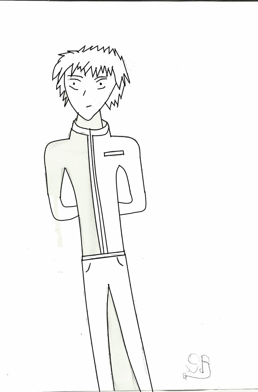 Line Art Maker : Kenta usui line art by leo base maker on deviantart