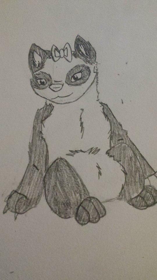 Pretty Panda by TheWolf16