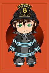 Fire force OC chibi