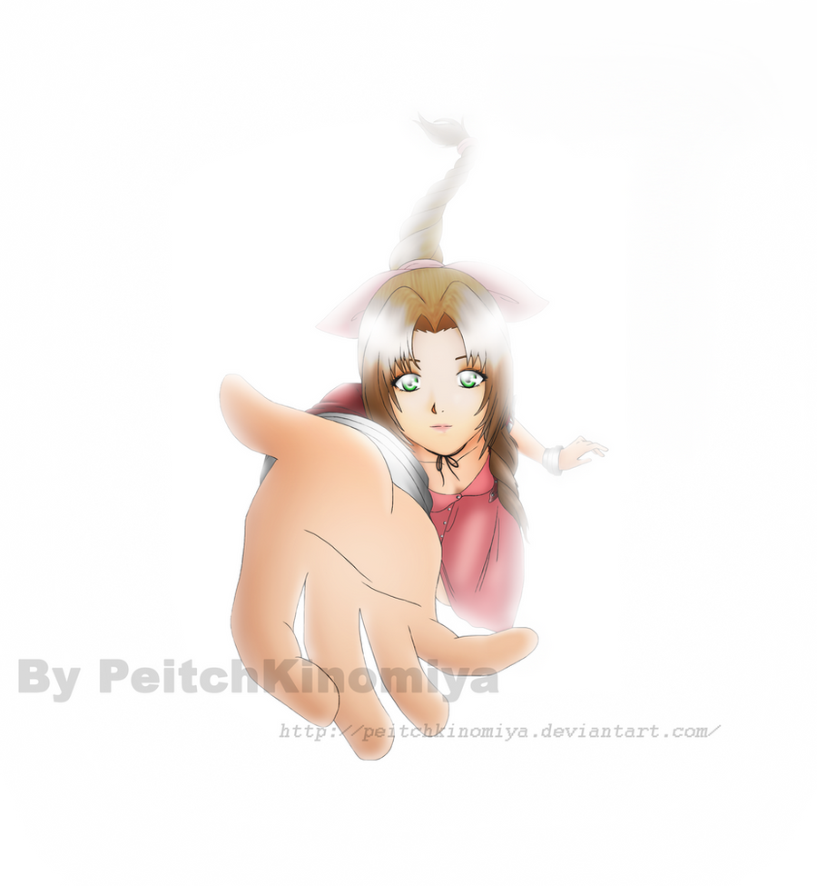 Aerith Gainsborough by PeitchKinomiya