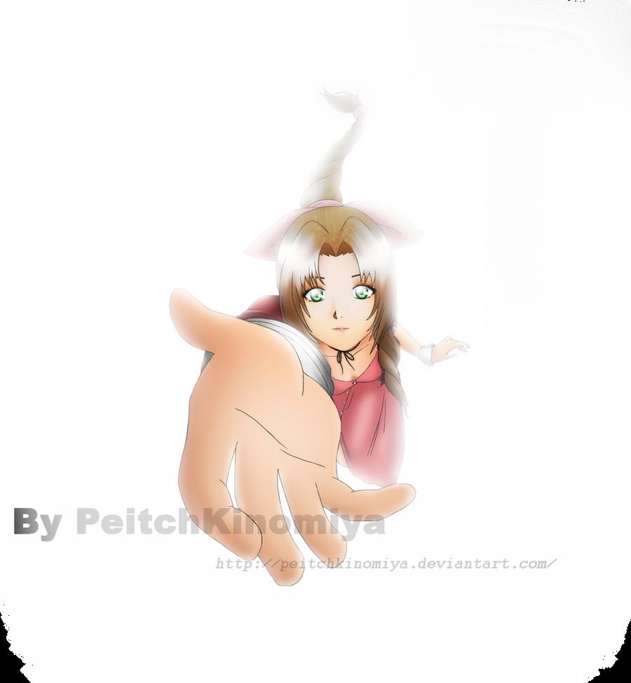 Aerith Gainsborough by PeitchKinomiya
