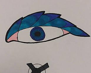an eye. by Reptile829