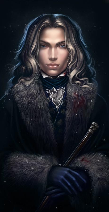 Ilustraciones de Crónicas Vampíricas Lestat_by_diablera-d4l5cv5