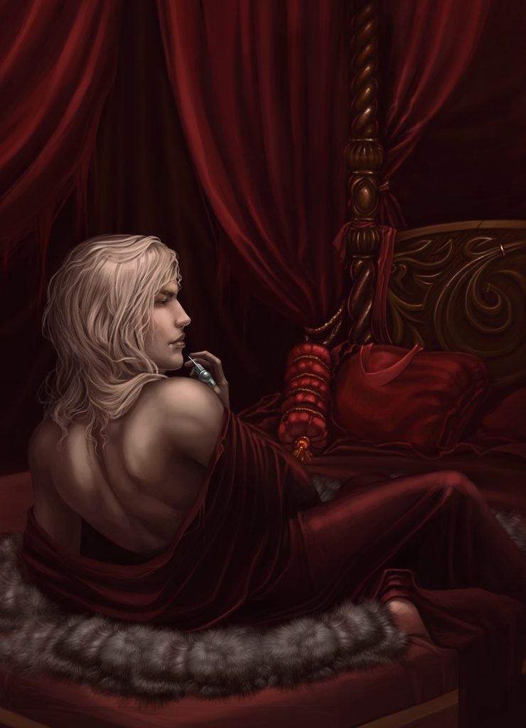 Ilustraciones de Crónicas Vampíricas Wolf_killer_by_diablera-d4mqi6t